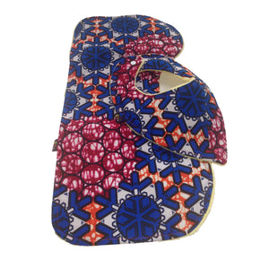 4-Piece Welcome Baby Home Gift Set: Love Overflow Baby Bib and Burp Cloth Set with Patchwork Bibs