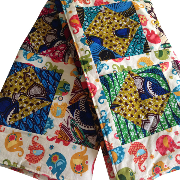 Baby Blanket - Aburi Reversible Baby First Blanket