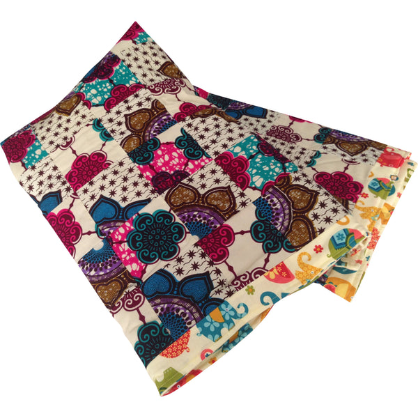 Baby Blanket - Afua Reversible Baby First Blanket