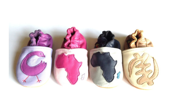 Shoes - Africa Pink Baby Shoes