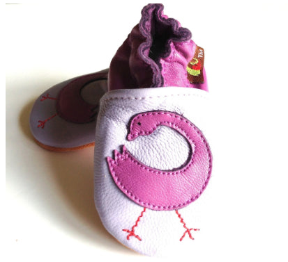 Shoes - Sankofa Purple Baby Shoes