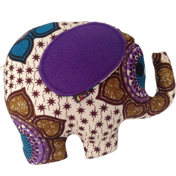 Toys - Afua The Elephant With Purple Ears