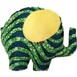 Toys - Kwabena The Elephant With Yellow Ears