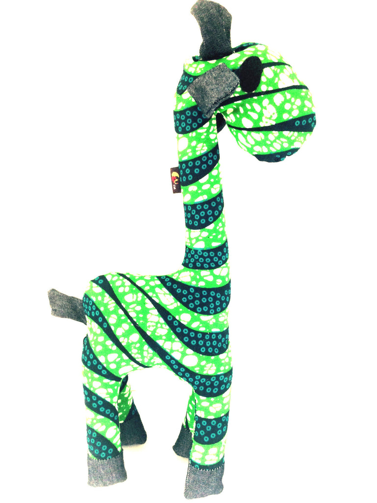 Toys - Kwabena The Giraffe Stuffed Animal Toy