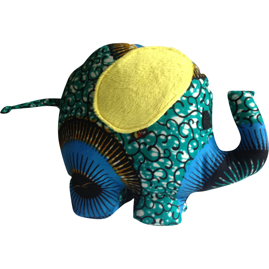 Toys - Kwesi The Elephant With Yellow Ears
