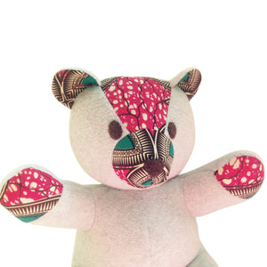 Toys - Nana Akosua The Teddy Bear-Grey