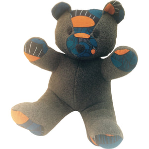 Toys - Nana Blue The Teddy Bear-Dark Grey