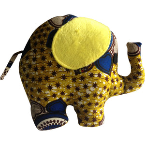 Toys - Nana E The Elephant With Yellow Ears