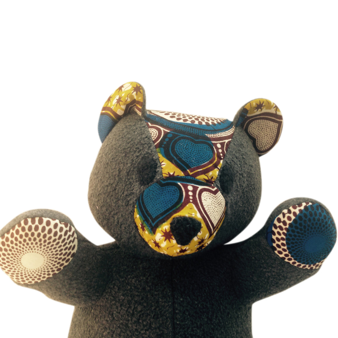 Toys - Nana The Teddy Bear-Dark Grey