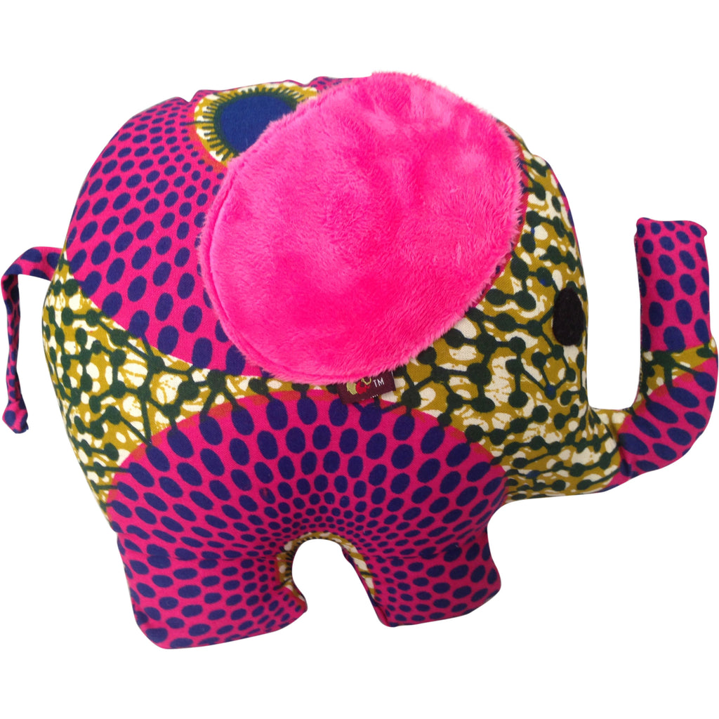 Toys - Yaa The Elephant With Pink Ears