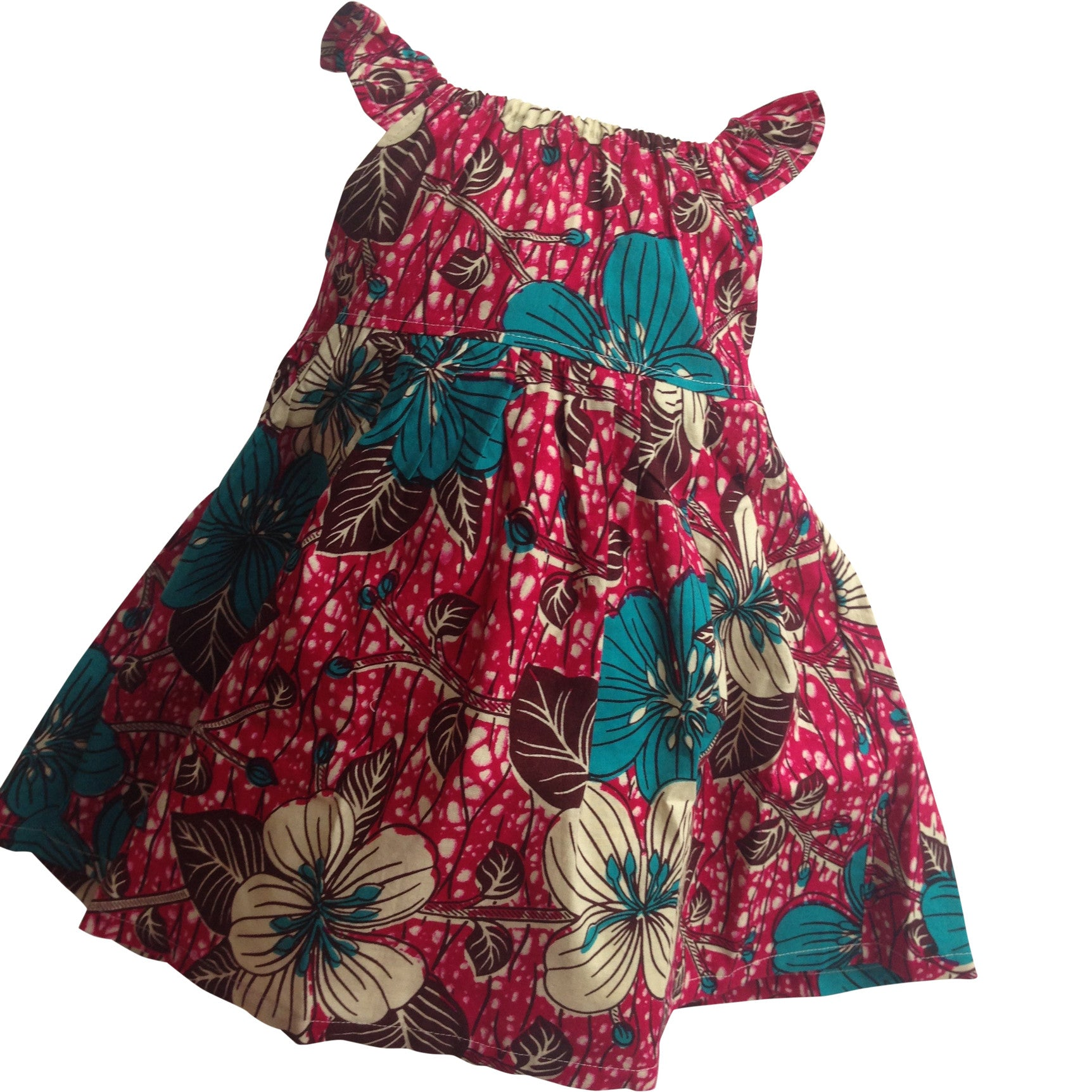 AFRICAN PRINT GIRLS' DRESSES