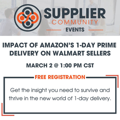 Impact of Amazon's 1-Day Prime Delivery on Walmart Sellers