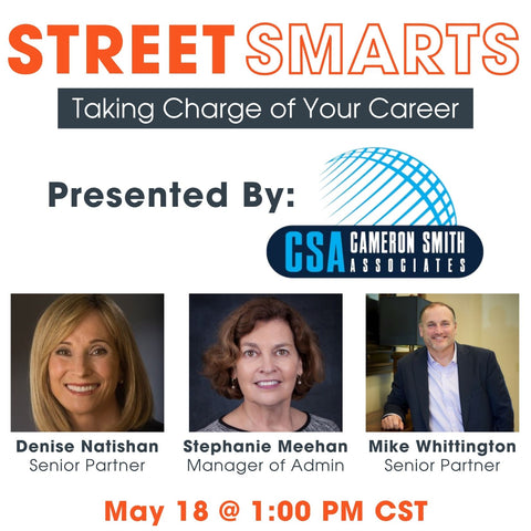 Street Smarts Series: Taking Charge of Your Career