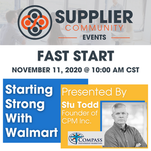 Fast Start - Starting Strong With Walmart