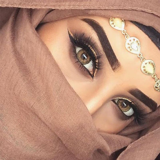 Egyptian natural brown (12 months) contact lenses