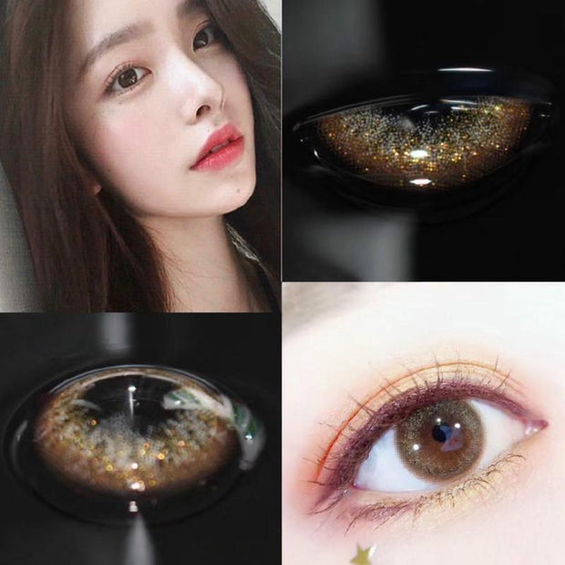 Starlight gold (12 months) contact lenses