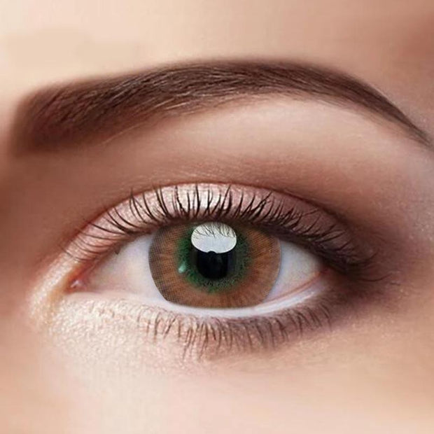 Eye Circle Lens  Brown Colored Contact Lenses - fameou