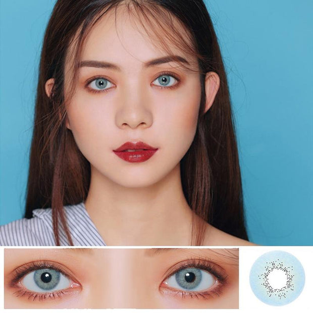 Blue color contact lenses (12 months) contact lenses
