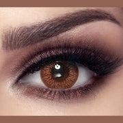 Queen Chocolate Colored Contact Lenses
