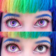 COSPLAY PURPLE(TWO PIECE)CONTACTS LENS