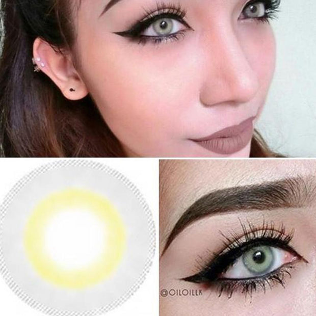 Natural Big Eyes Light Blue Contact Lenses
