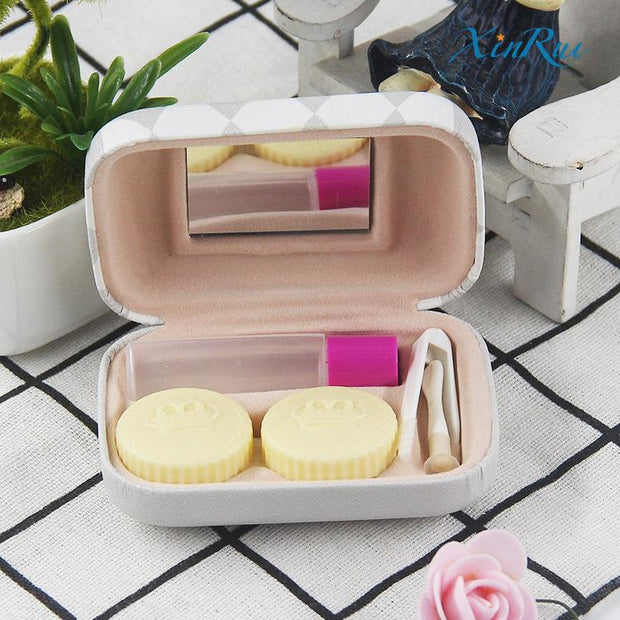 Contact lens box beauty contact care box