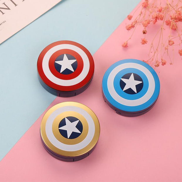 Contact lens case captain contact lens case