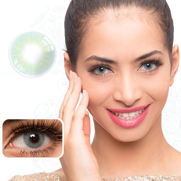 Natural Fruit Green (12 months) contact lenses
