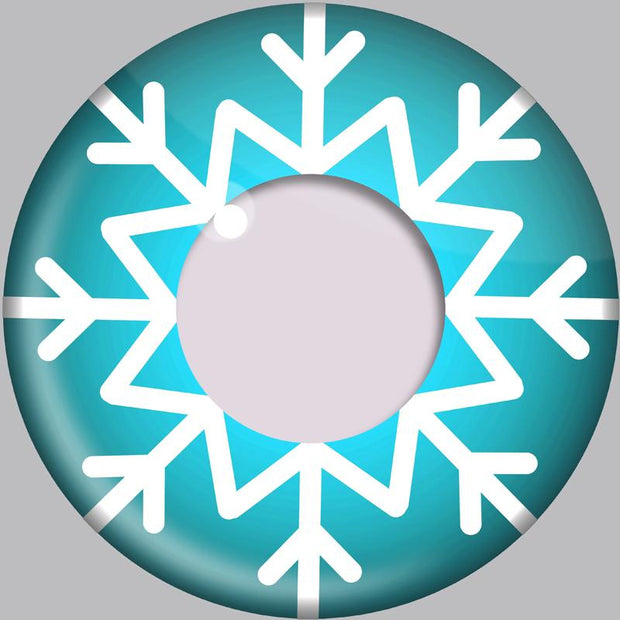 cosplay snowflake (12 months) contact lenses