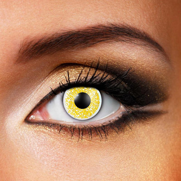Glimmer-Gold-Contact-Lenses