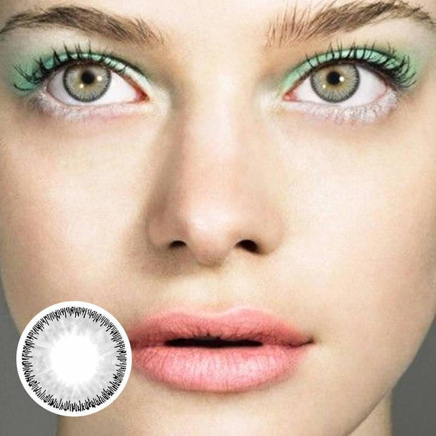 Shinning Radiant Grey (12 Month) Contact Lenses - ilabar