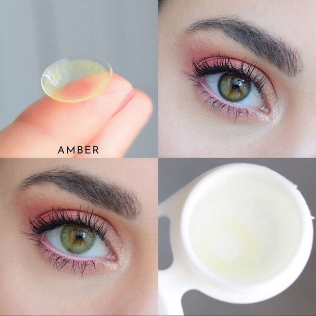 Amber (12 Month) Contact Lenses