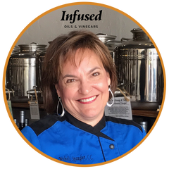 Meet Chef Michelle, new owner of INFUSED Oils & Vinegars (previously EVOO & Vin)