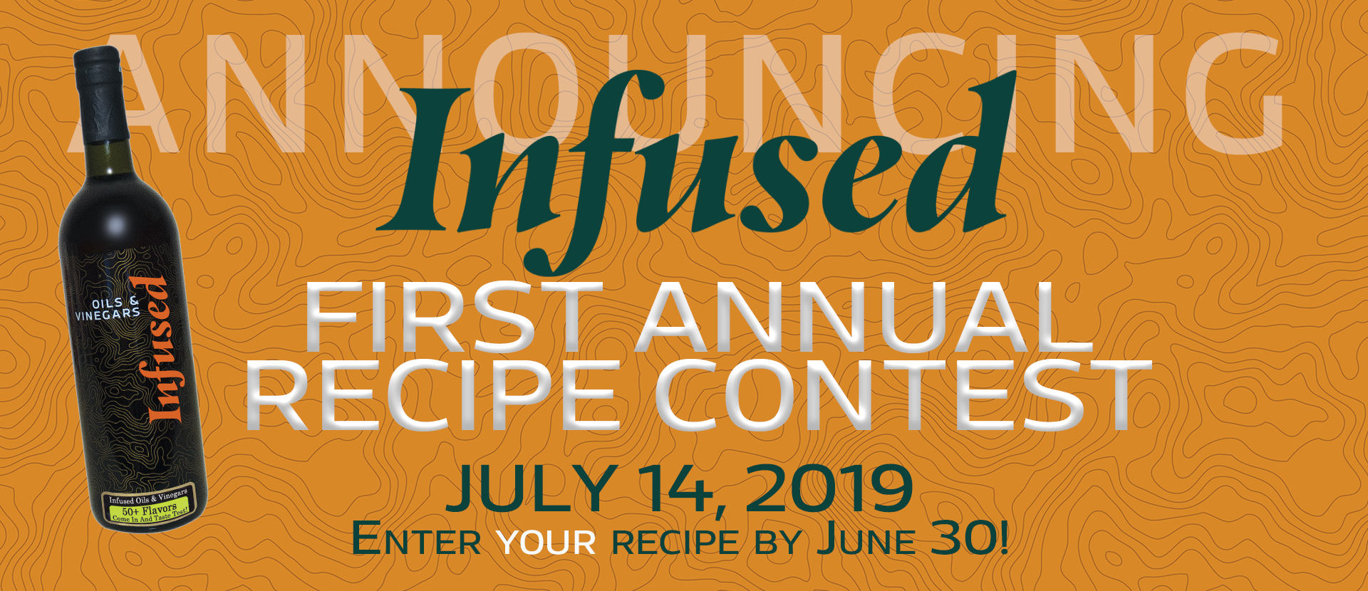 Recipe Contest -- July 14, 2019 -- Enter your recipe until June 30!