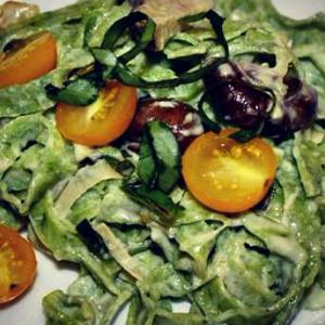 Arugula Pasta with Garlic Mushroom Sauce | Sauce | Olive Oil - EVOO & Vin