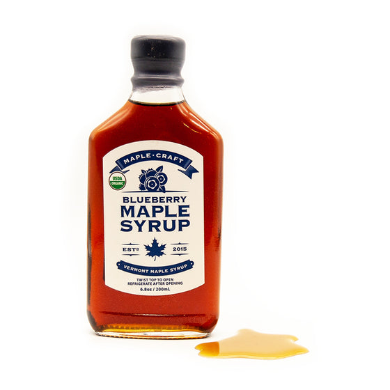 Blueberry INFUSED Maple Syrup