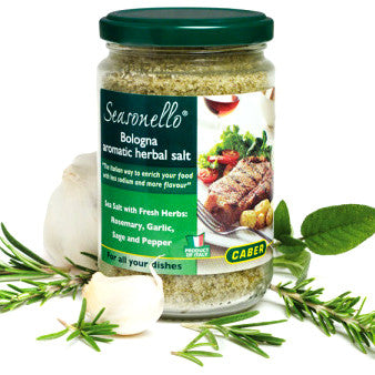 Bologna Aromatic Herbal Salt - EVOO & Vin