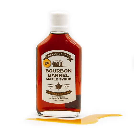 Bourbon INFUSED Maple Syrup
