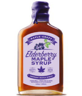 Elderberry INFUSED Maple Syrup