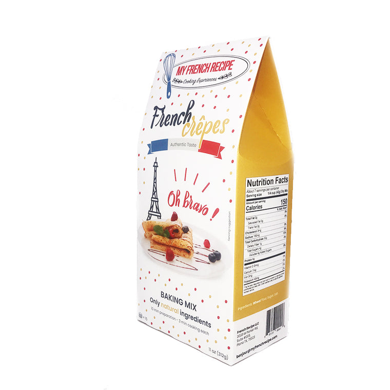 French Crepes Baking Mix