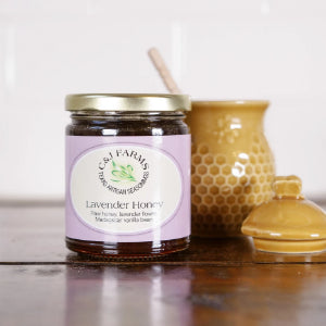 Lavendar INFUSED Honey
