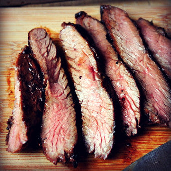 Red Cayenne Chili Skirt Steaks - EVOO & Vin