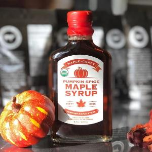 Syrup - Pumpkin Spice INFUSED Maple