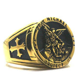 Knights Templar Ring<br> Saint Michael