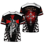 Knights Templar T-Shirt Master's Cross