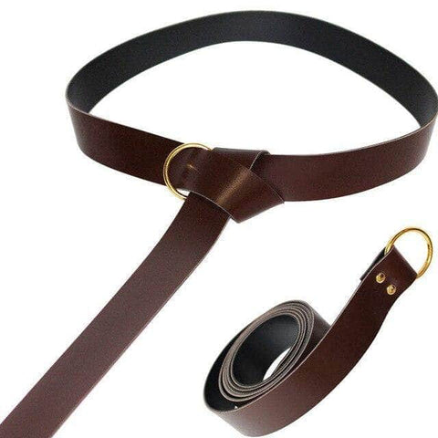 Knights Templar Belt Brown