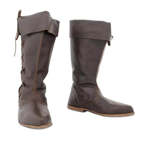 Knights Templar Boots Brown