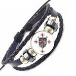 Knights Templar Bracelet Christ's Shield