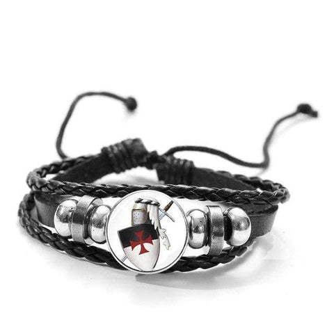 Knights Templar Bracelet Defender of the Order