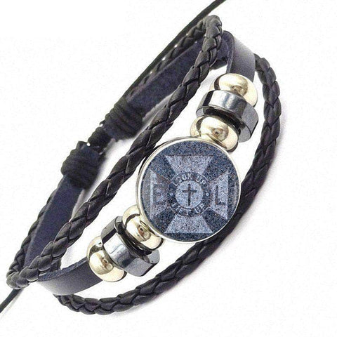 Knights Templar Bracelet Look Up